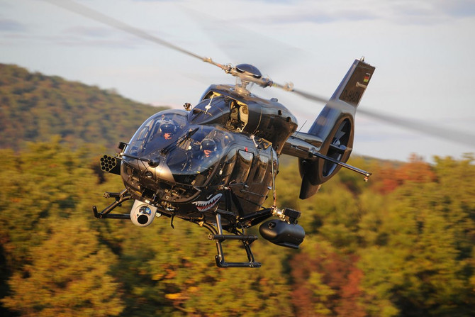 Airbus Helicopters completes first firing campaign with HForce-equipped H145M