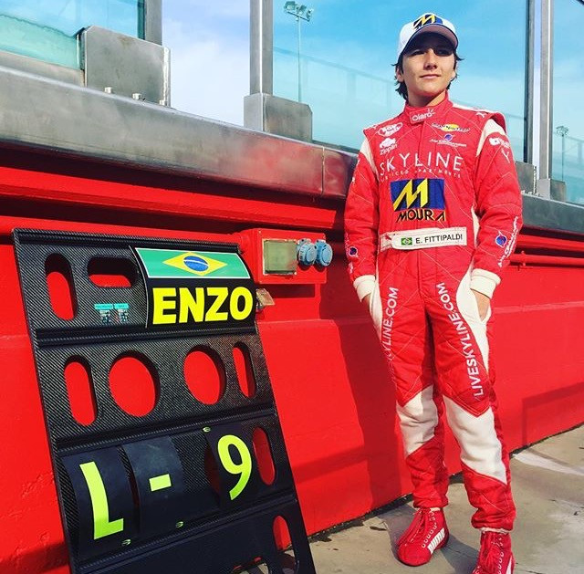 Enzo Fittipaldi joins Ferrari Driver Academy