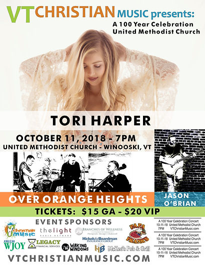 2018-10-11 - UMC Christian Concert Poste