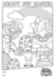 2020 Ready Set Easter Colouring In Sheet