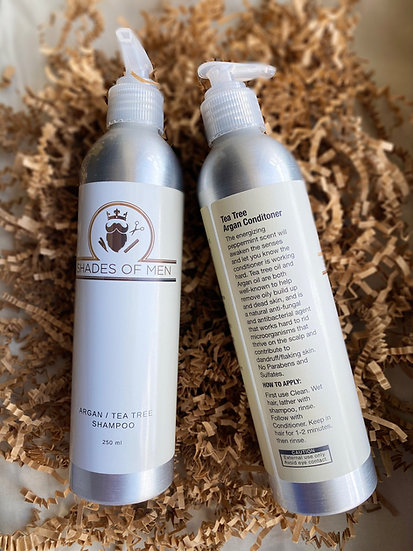 Tea Tree Argan Shampoo & Conditioner Bundle