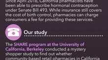 Pharmacist-Prescribed Contraception Study
