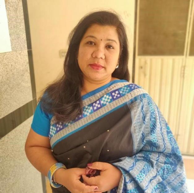 Artist Rosy Mishra