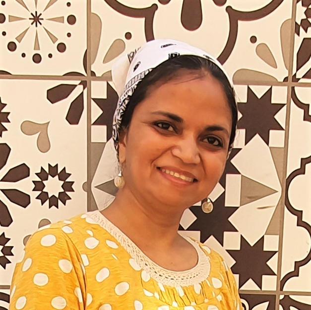 Artist Sunita Bolloju