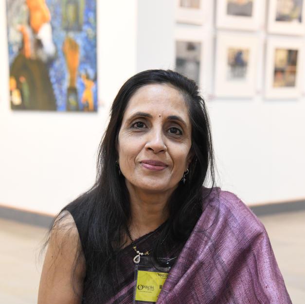 Artist Warsha Lath