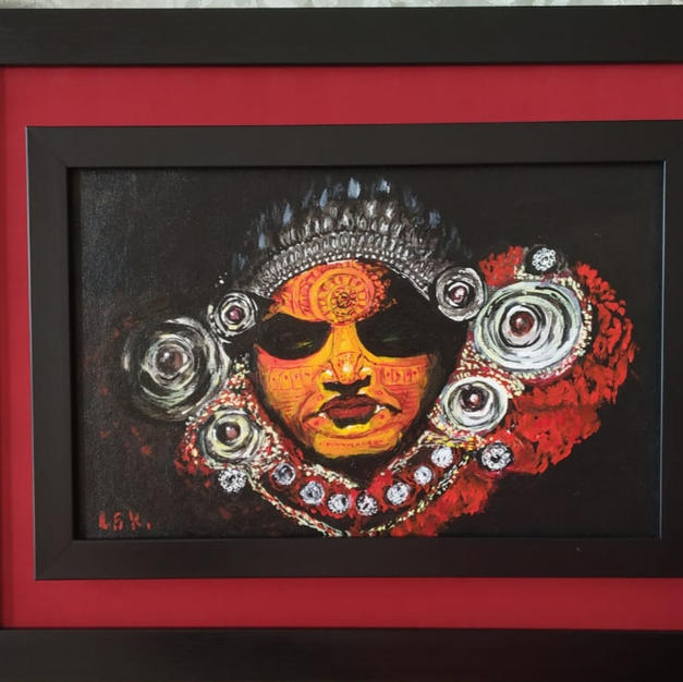 Theyyam a dance form of Kerala