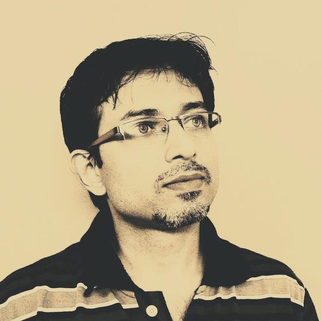 Artist Rajrappa Roy