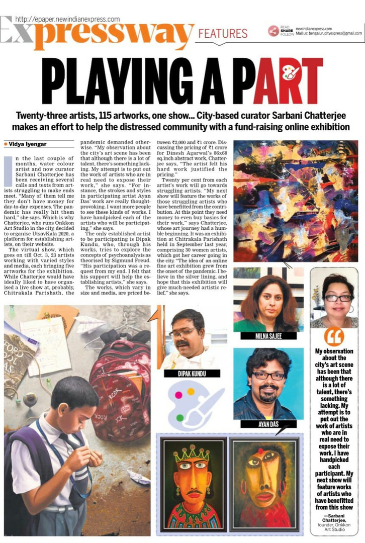 Indian Express - 7th Sept 20