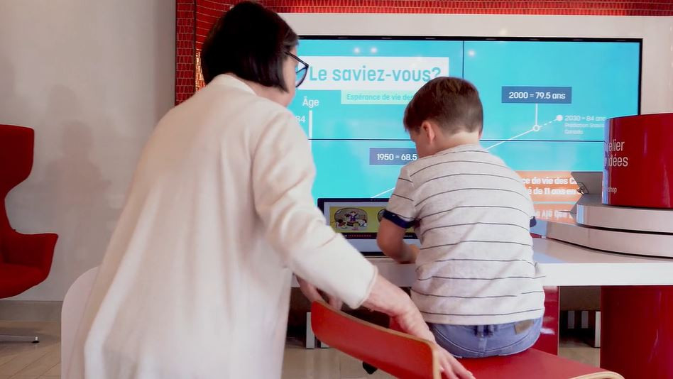 Retail banks create engaging experiences for patrons of all ages!