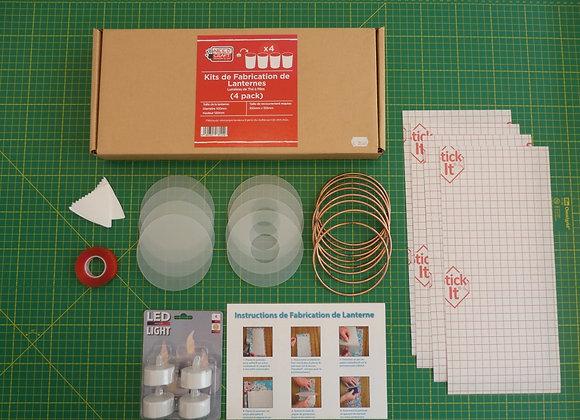 Kit de fabrication 4 Lanternes