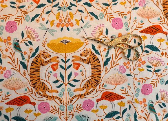 Coton Fleurs et Tigres Dashwood Studio