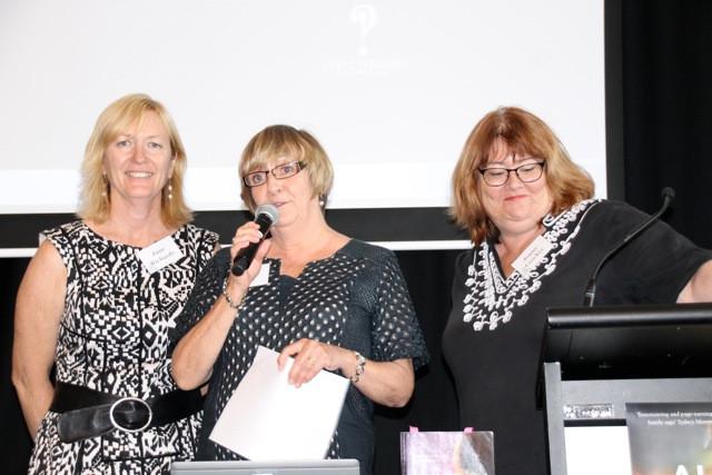 Jane Richards, Denise Tart and Jenny Crocker
