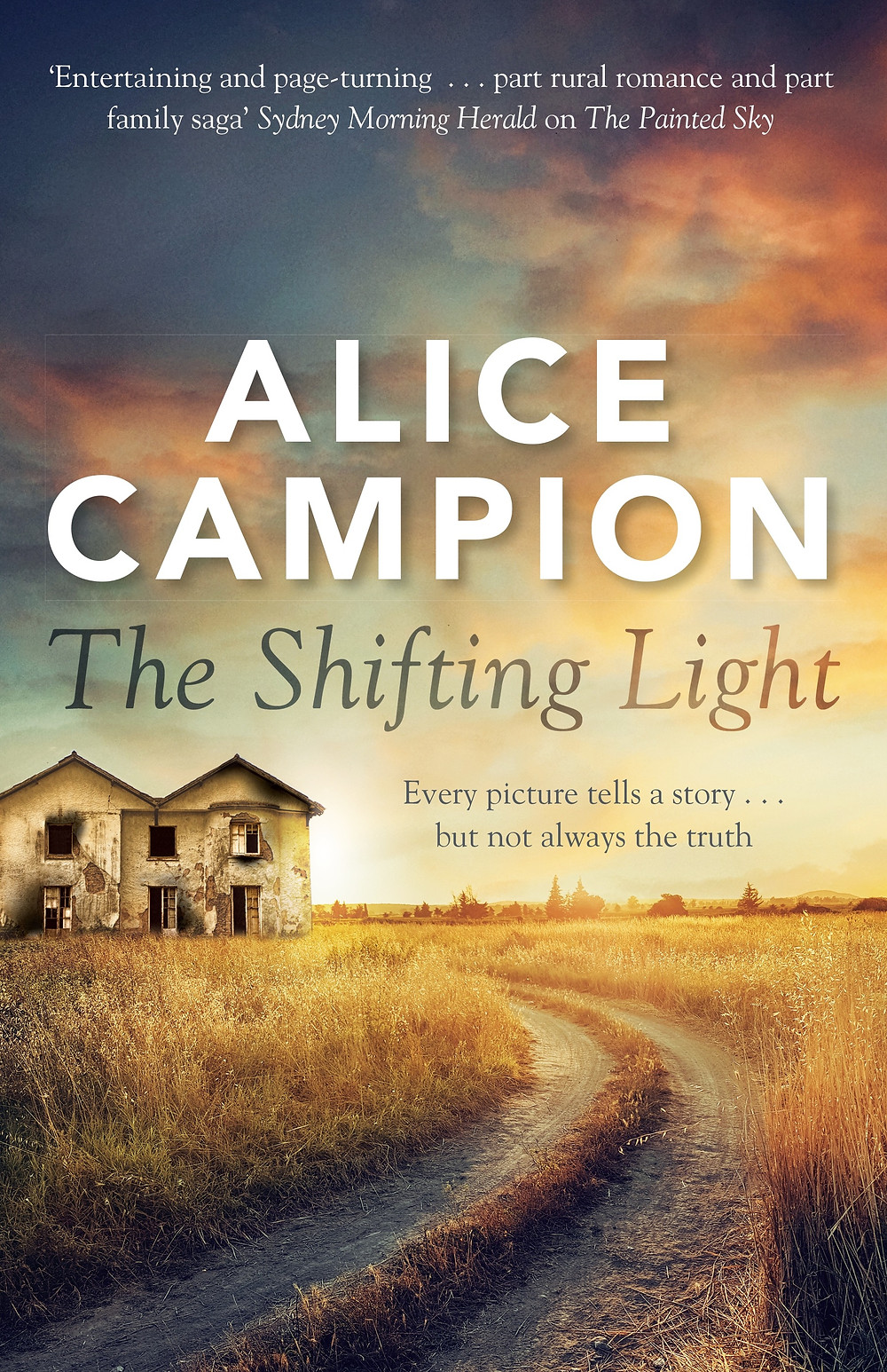 The Shifting Light front cover pic