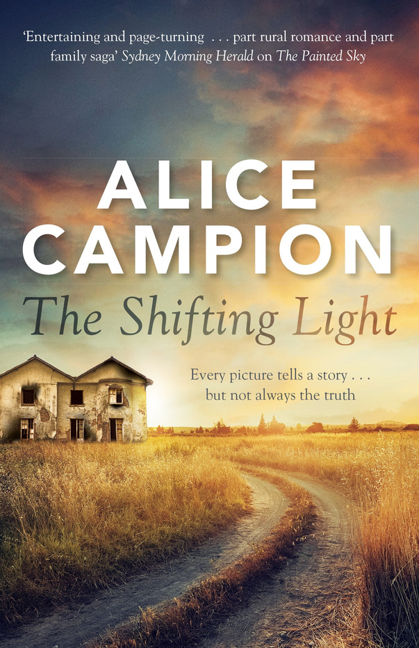 Alice Campion launches her second novel - The Shifting Light