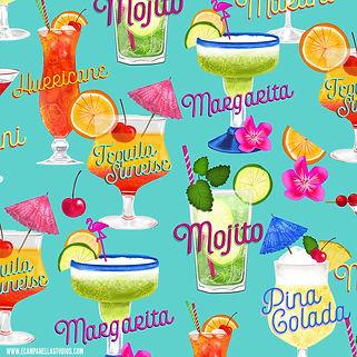 Summer Cocktail Print