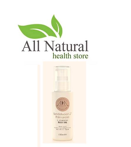 AA Skincare  Sandalwood & Palmarosa cleansing face gel 100ml