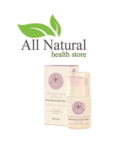 AA Skincare Frankincense & Rose Face cream 50ml