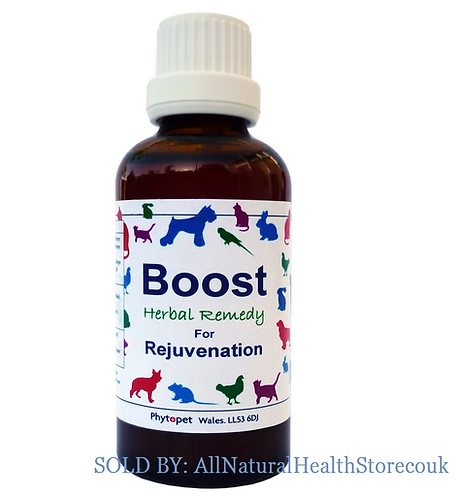 Phytopet Boost, Recovery from illness, Dog, Cat, Rabbit add Water/Food