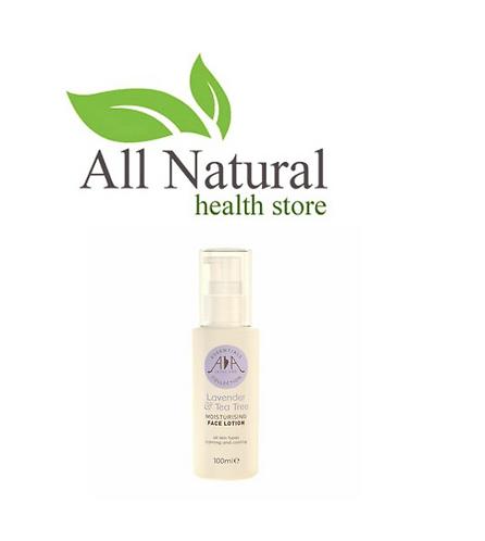 AA Skincare Lavender & Tea tree moisturising Face lotion 100ml