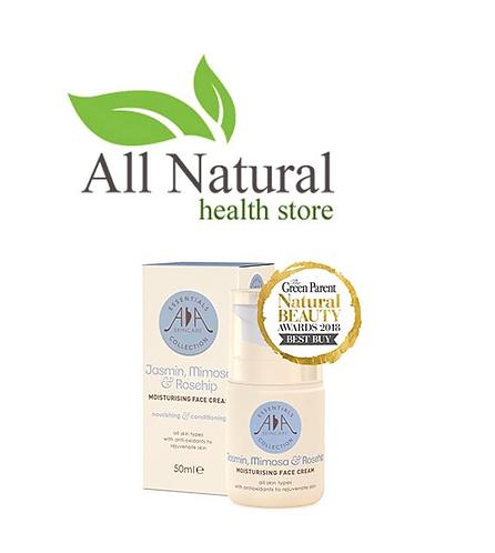 AA Skincare Jasmin, Mimosa & Rosehip moisturising Face cream 50ml