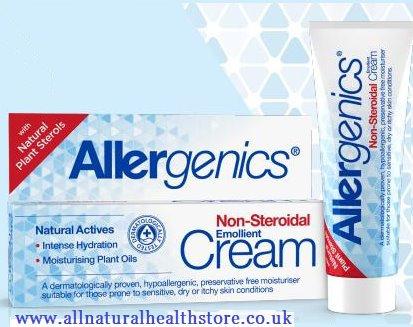 Optima Allergenics Emollient Cream 50ml non-steroidal, Dry, Itchy,Irritated Skin