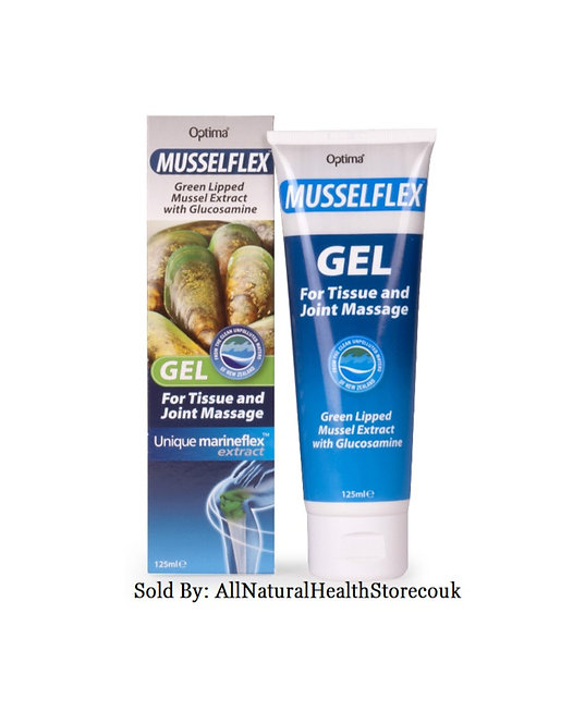 Musselflex Gel 125ml Green Lipped Mussel: Select Quantity
