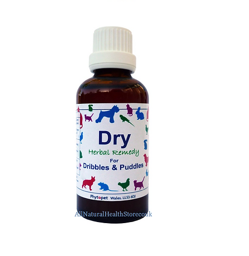 Phytopet Dry, Urinary tract, bladder control dog, cat, rabbits add to Water/Food