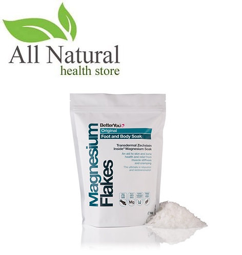 BetterYou Magnesium Flakes 250g Body Soak, Muscle tension & remineralisation