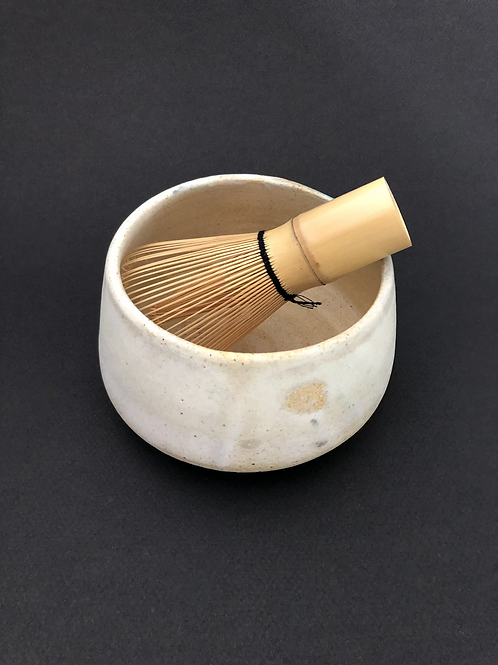 Matcha kit with ceramic tea bowl - chawan by Alan Rubin