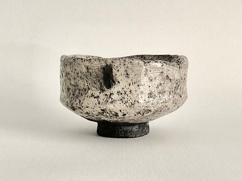 Ceramic raku bowl for matcha New Zealand