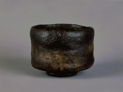 Raku tea bowl in Raku museum in Kyoto