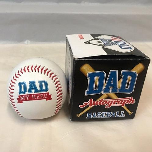 Dad Autograph Baseball