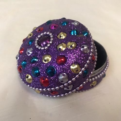 Round Glitter Box