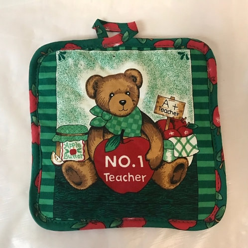 Teacher  Pot Holder