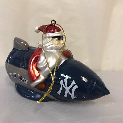 SportsOrnament - Rocket Santa Boxed Assorted