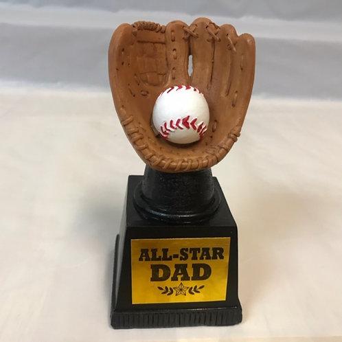 Baseball Trophy - Dad, Grandpa