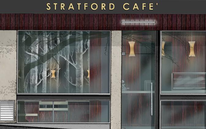Chill / Stratford Cafe' - Shopfront Visual