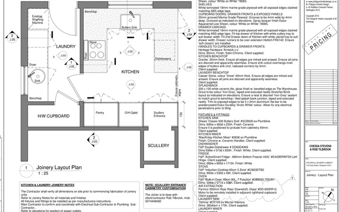 Plan & Specifications