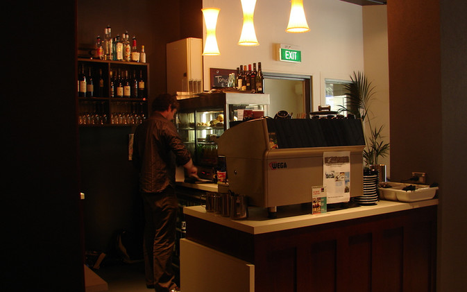Chill / Stratford Cafe' - Counter