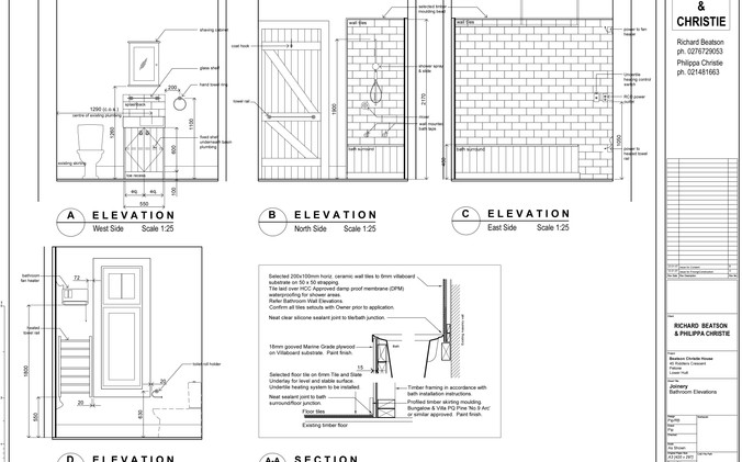 Beatson Cottage - Bathroom Joinery