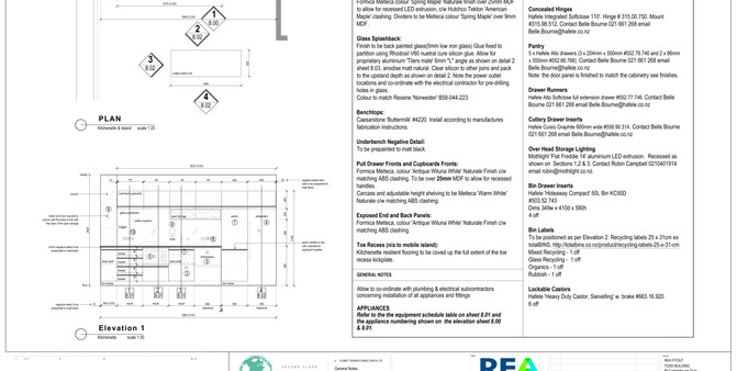 REA Refreshment Joinery