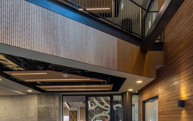Atrium c/w Recycled Timber