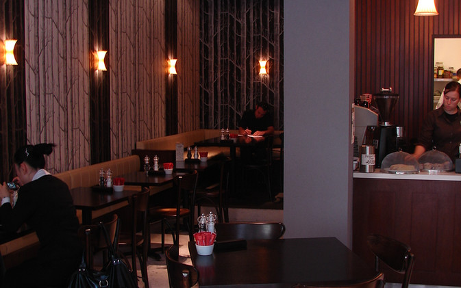 Chill / Stratford Cafe' - Interior