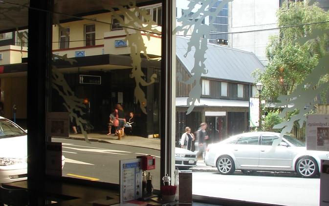 Chill / Stratford Cafe' - Corner Mirror