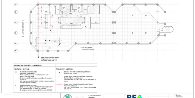 REA Reflected Ceiling Plan