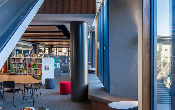 Atrium & Library