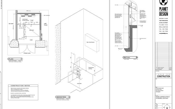 3C - Dumb Waiter & Storage