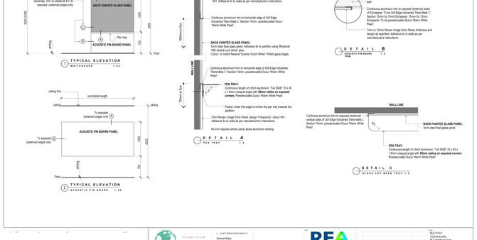 REA Whiteboard & Pinboard Joinery