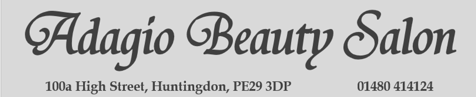Adagio Beauty Salon, Huntingdon, waxing, Threading, Electrolysis, Tinting, LVL, Facials, Massage, Manicure, Pedicure, Spray Tan, Dermalogica