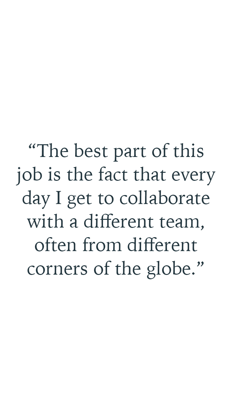 Quote by Damian Garozzo about collaboration and team work